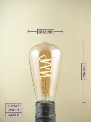 Lampadina a Filamento LED LED04