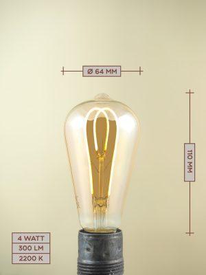 Lampadina a Filamento LED LED05