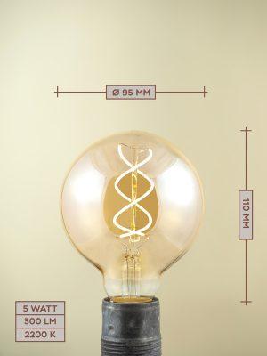 Lampadina a Filamento LED LED08