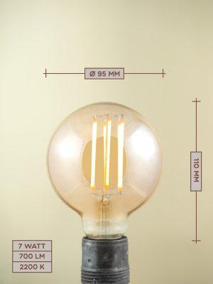 Lampadina a Filamento LED LED07